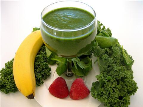 Neem green smoothies voor mentale en fysieke balans