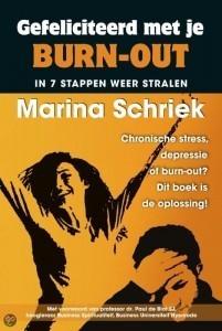 Boek'Gefeliciteerd met je burn-out, In 7 stappen weer stralen'
