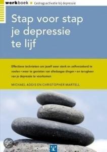 Boek'Stap voor stap je depressie te lijf'