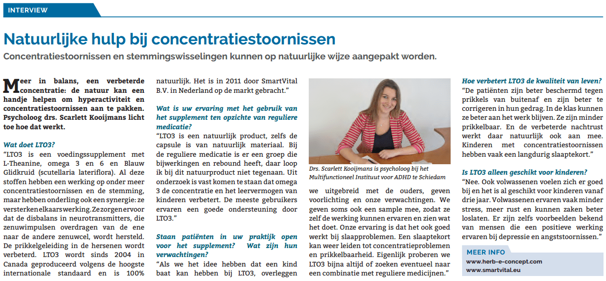 Interview met Drs. Scarlett Kooijmans over lto3