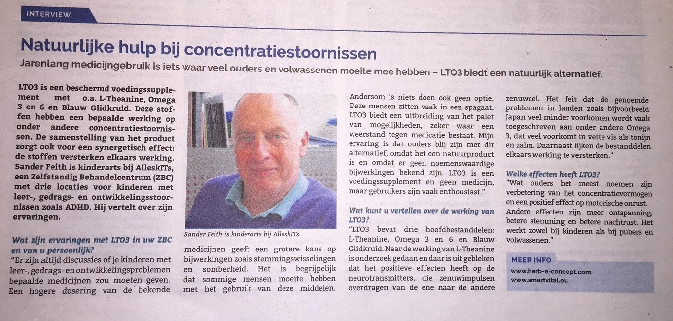 Interview met kinderarts Sander Feith over LTO3
