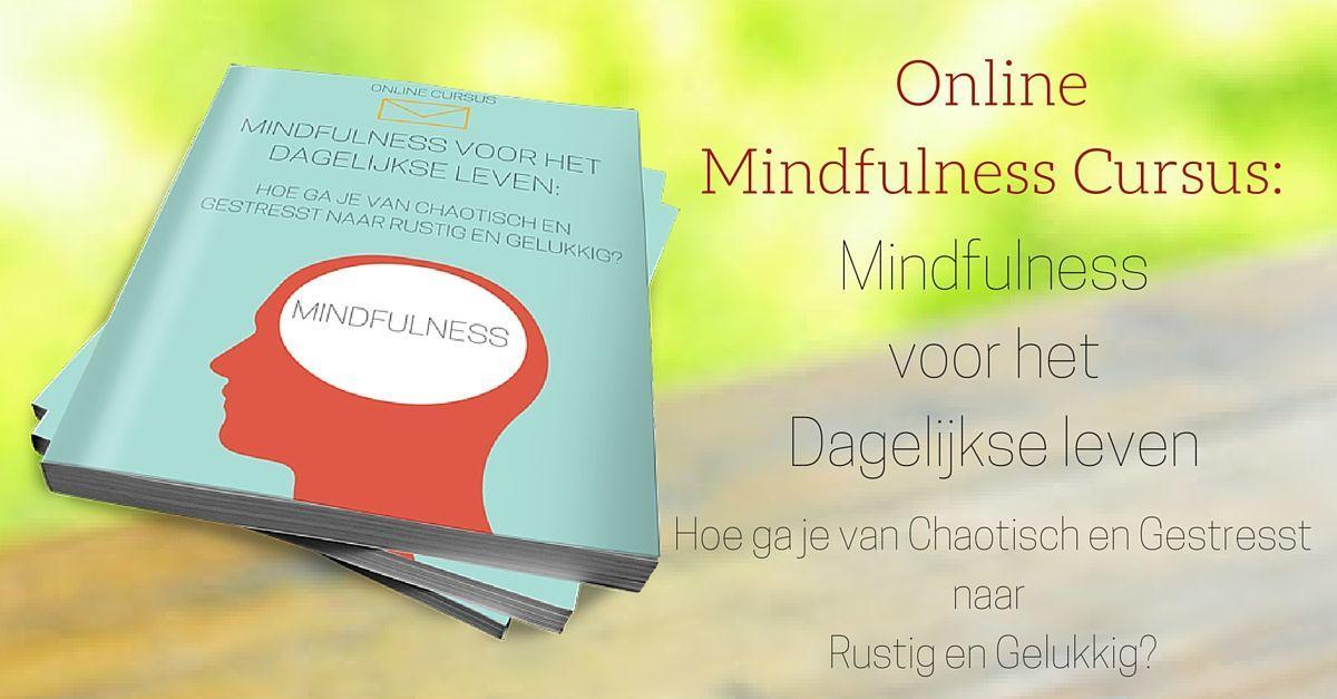 Online mindfullness cursus waar je als HSP'er veel ana kunt hebben